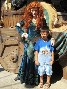 Merida and my son